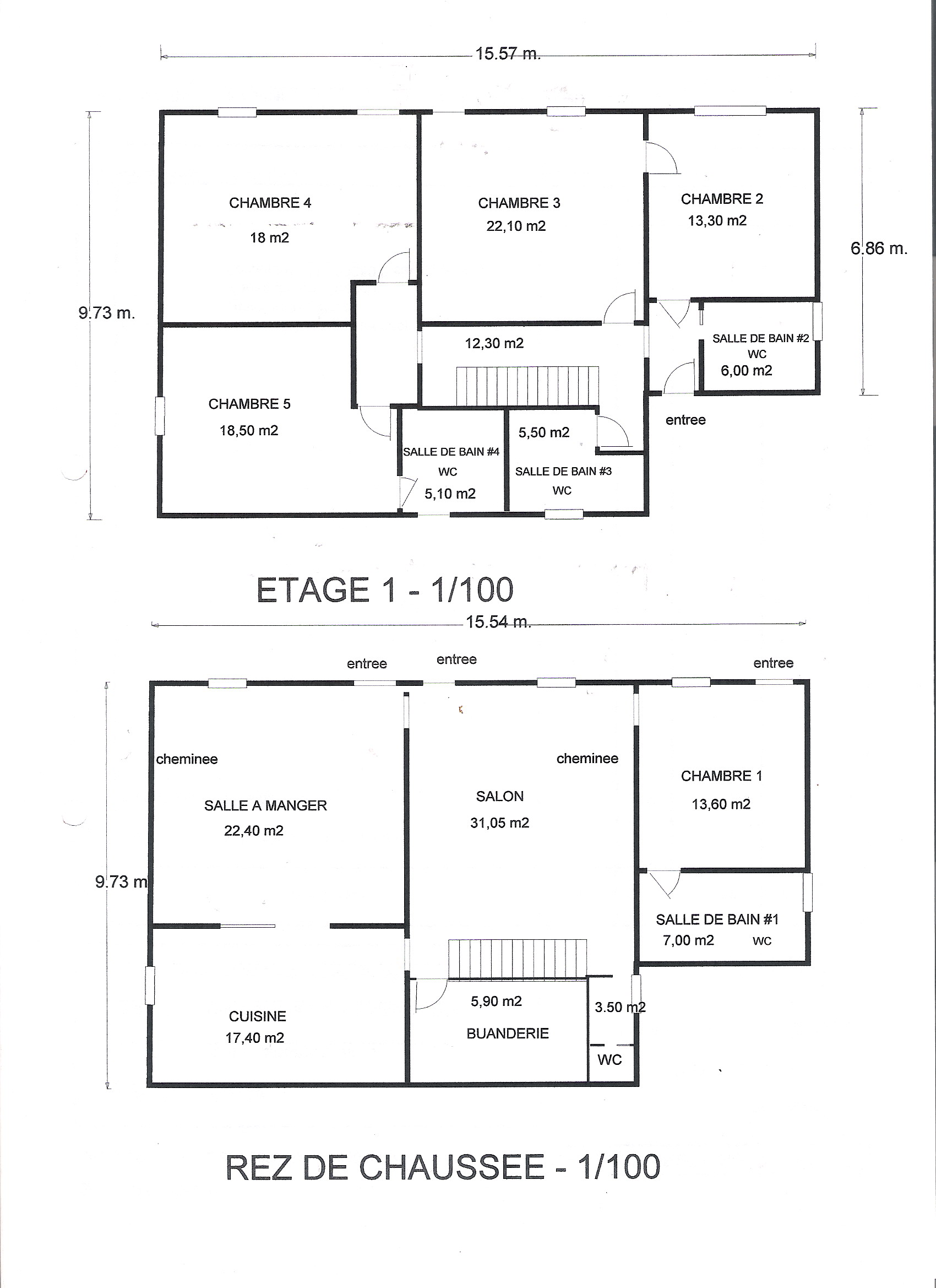 Salle De Bain Commune Hotel ~ Gite Etang Jaune Description Du Gite